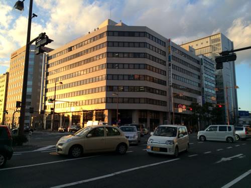 CIC 中四国開示相談室が入居している日本生命岡山第二ビル