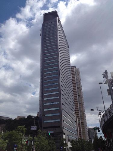 大阪の日本信用情報開示窓口が入居しているパークスタワーの写真